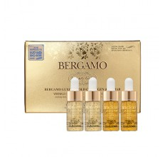 Bergamo Luxury Gold Caviar Wrinkle Care Intense Repair Ampoule 4pcs